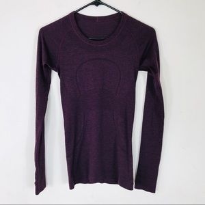 Lululemon Swiftly Tech Long Sleeve Top Size 4